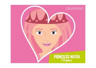 Princess Nayia - 7-8 years